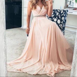 All About Love Blush Pink Maxi Dress